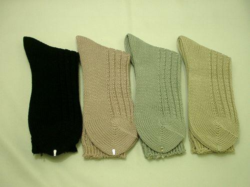 【綿100%】ざっくりやわらかい婦人靴下